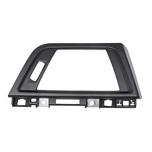 Anteprima Panel de salida de aire para coche, rejilla brillante, marco de ventilación para BMW Serie 3 F35 F30 2012-2018 64229253217 (nombre del color: negro)