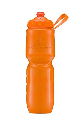 Polar Bottle IB24SOTAN Insulated Water Bottle-24oz. Color Series}, 24 oz, Tangerine