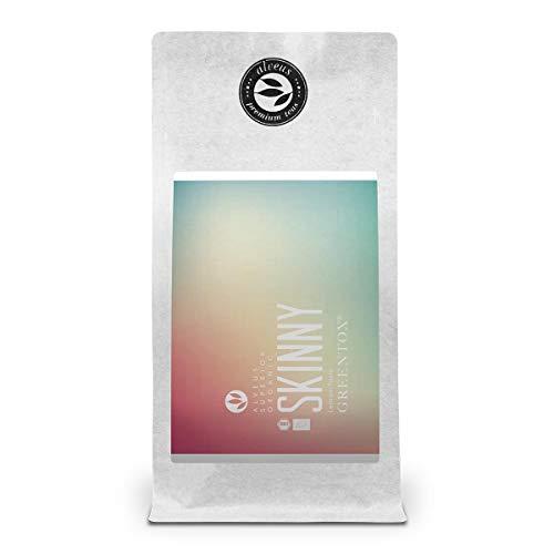 """Grüner Tee Zitrone Lose Bio """"Skinny"""" von alveus Greentox Premium Teas – Aromatisierte Teemischung mit Mate, Zitronengras und Weißtee – ca. 40 Tassen (100 Gramm)"""