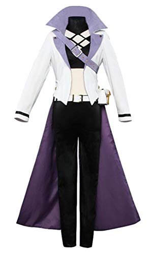 DOUJIONG Womens Blake Belladonna Cosplay Costume Halloween Uniform Outfit Suit (S, Black)