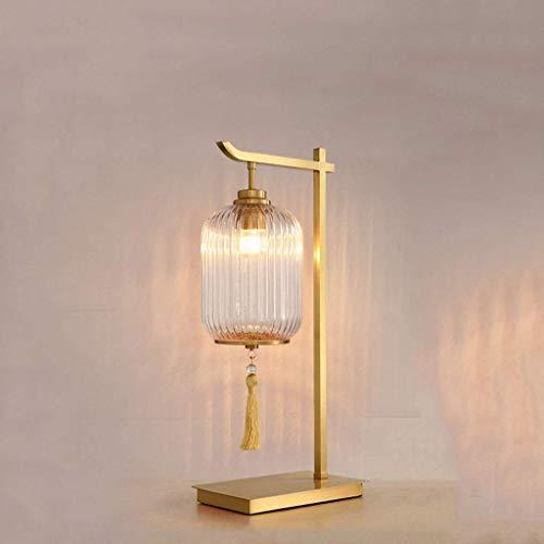 DGHJK Living Lámpara de Escritorio/Lámparas de Escritorio Chino Lámpara Dormitorio Mesita de Noche Decoración Moderno Minimalista Estilo Chino Luz Zen Sala de Estar de Lujo Sofá Mesa de