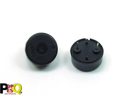 POPESQ® - 2 Piezas/pcs. x Zumbador Piezo/Piezo - Buzzer Compatible con Arduino Raspberry Pi #A182
