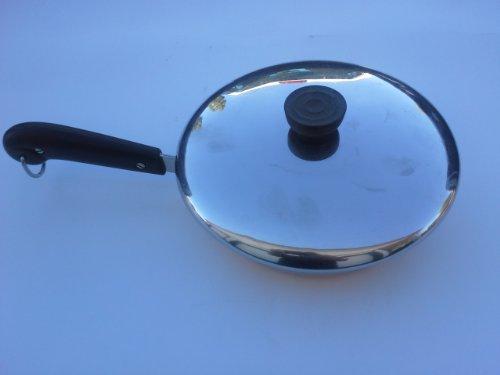 Vintage (Pre-1968) Revere Ware Copper Clad 8-Inch Skillet with Lid