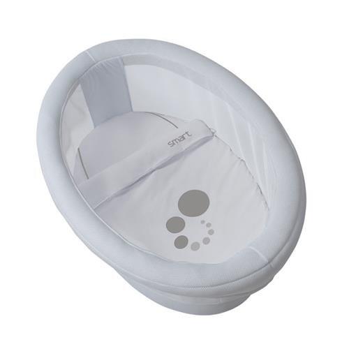 Micuna - Estructura para minicuna ovalada con leds smart luce blanco