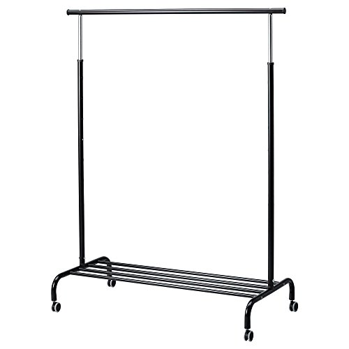 【IKEA/イケア】RIGGA 洋服ラック, ブラック