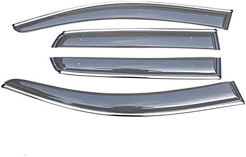 Coche Deflectores Cortavientos Para Ventanilla Para VW Golf 7 2014-2018, Para Ventanas Laterales VehíCulos Sun ProteccióN Contra Lluvia VentilacióN