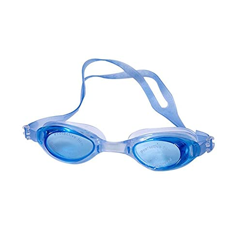 XUEXIU Gafas de natación de Silicona Gafas de natación a Prueba de Agua para Hombres y Mujeres Luz Plana Gafas de natación Regulables Gafas de Sol Multicolor Ajustables (Color : 02)