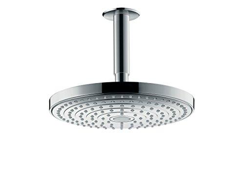 Hansgrohe 26467000 Raindance Select S 240 ducha de techo, 2 tipos de chorro, cromo