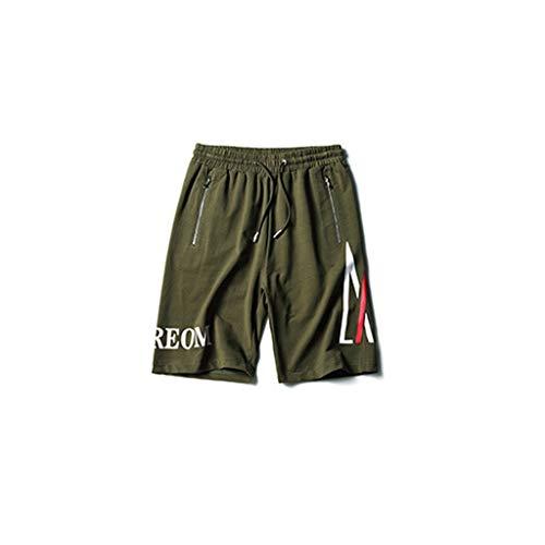Shorts outdoorshorts van Vrac sport-shorts, nonchalante shorts van katoen, ademend, comfortabel, grijs/legergroen