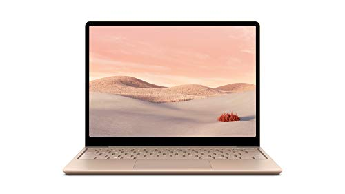 Microsoft Surface Laptop Go, 12,45 Zoll Laptop (Intel Core i5, 8GB RAM, 128GB SSD, Win 10 Home in S Mode) Sandstein - exklusiv nur bei Amazon