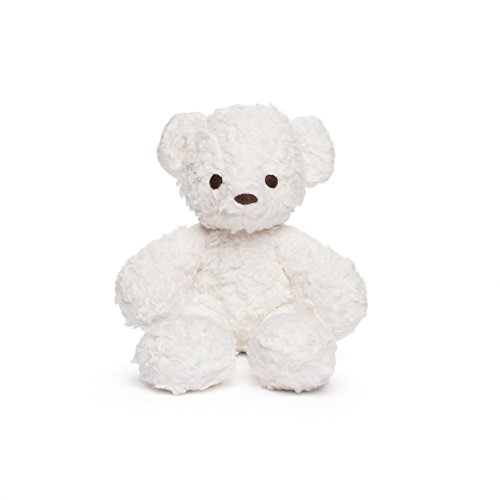 Product Image of the Bears for Humanity Organic Sherpa Bear Plush Toy, White, 10 Inch (Pack of 1)