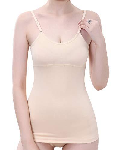 Everbellus Fajas Reductoras Adelgazantes Camisetas Moldeadora Body Reductor Compresión Ropa Interior para Mujer