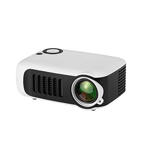 Draagbare mini-projector, 800 lumens 1080p LCD-scherm, 50.000 uur levensduur van de lamp voor home video beschermer-met statief,1