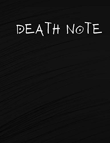 Death Note: 8x11 120 Page Wide Ruled Notebook
