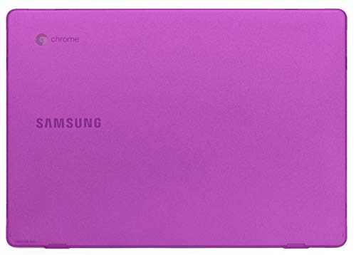 "mCover Hard Shell Case for 2020 11.6"" Samsung Chromebook 4 XE310XBA Series (Purple)"