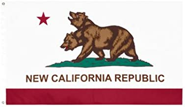 Five Star Flags New California Republic (NCR) Flag,Fallout Flag, Exclusive Fallout Merchandise for Indoor or Outdoor Use, 100% Polyester, 3 x 5 Ft