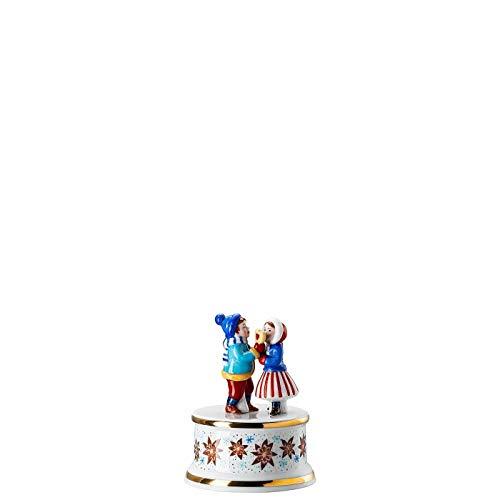 Hutschenreuther Spieluhr klein Sammelkollektion 20 Weihnachtsbäckerei