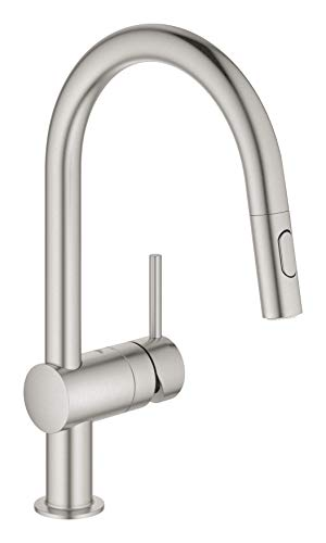 """Grohe Minta - Kitchen faucet 1/2"""", color supersteel (Ref.32321DC2)"""