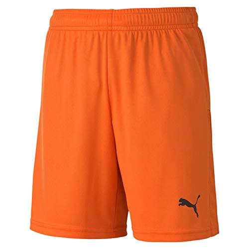 PUMA Teamgoal 23 Knit Shorts Jr Pantalones Cortos, Unisex niños, Golden Poppy, 128
