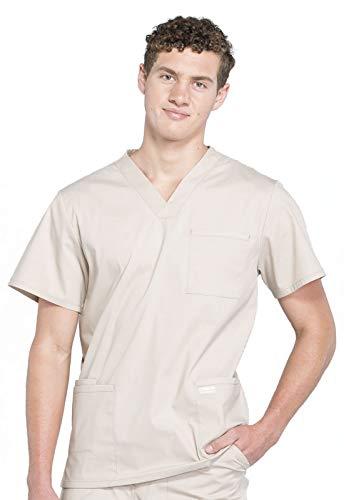 CHEROKEE-Workwear-Professionals-Mens-V-Neck-Scrub-Top