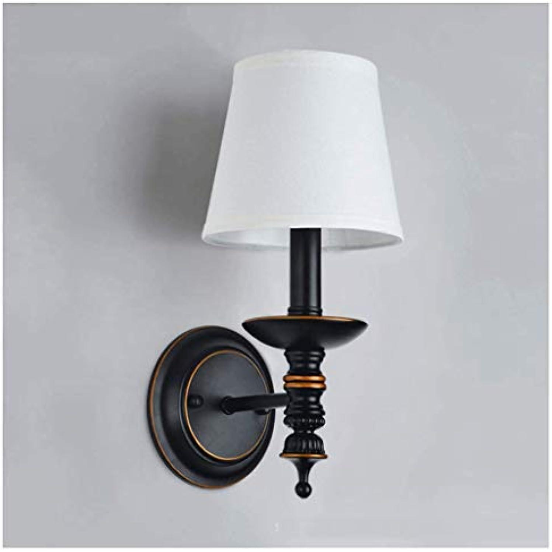 Duo-Ming.Tian Wandleuchten Wandleuchte Tuch Kreative Innendisplay E14 Beleuchtung Dekoration Wandlampen Wohnzimmer Leuchten
