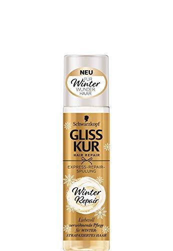 Schwarzkopf Gliss Kur - Acondicionador para invierno (efecto antiestático, 300 ml)