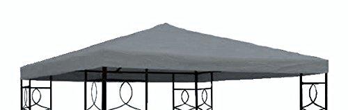 Spetebo paviljoen vervangend dak 3x3 meter - antraciet - waterdicht - paviljoendak