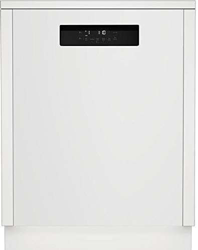 Blomberg DWT52600WIH 24 Inch Built In Full Console Dishwasher in white