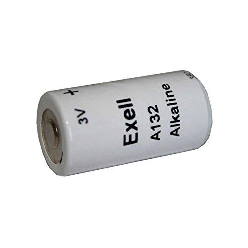 Exell A132 Alkaline 3V Battery TR132, PC132A, EN132A