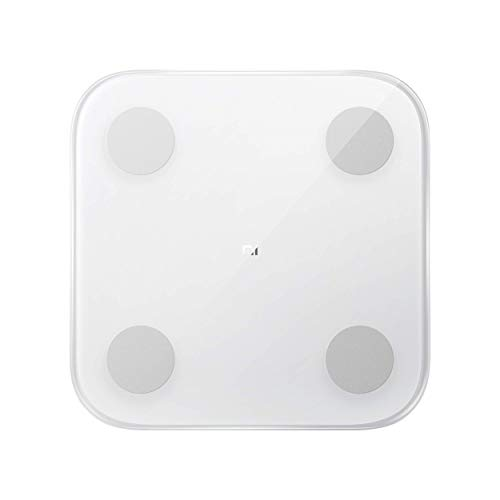 Mi Body Composition Scale 2, Bilancia Pesa Persona Digitale impedenziometrica Diagnostica Bluetooth Digitale con 13 parametri di composizione corporea, App per IOS e Andriod, bianco(versione italiana)