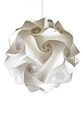 Originale Lampadario moderno SFERA diametro 50 cm bianco Lampada Lampadesign elegante sospensione moderna per cucina soggiorno sala camera da letto salotto