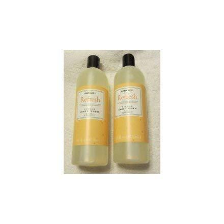 Trader Joe's Refresh Citrus Body Wash with Vitamin C - Cruelty Free (Two 16 Fl Oz Bottles)