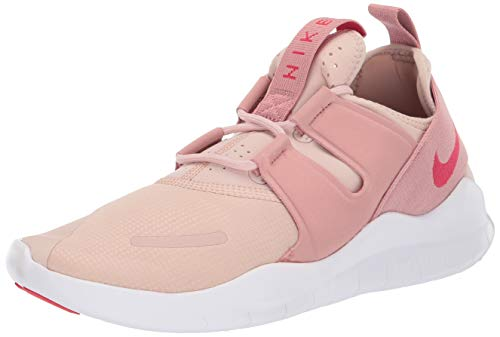 Nike Women's Low-Top Sneakers, Multicolour Particle Beige Tropical Pink Rust Pink 001, Women 2
