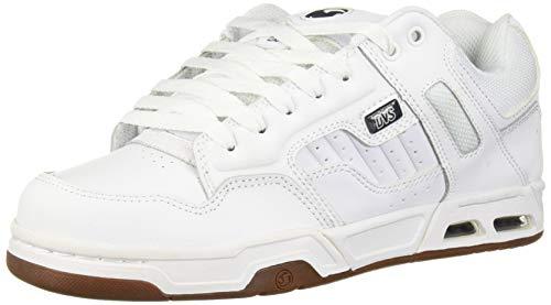 DVS Unisex-Erwachsene Enduro Heir Skateboardschuhe, Weiß (White Gum Nubuck 112), 45 EU