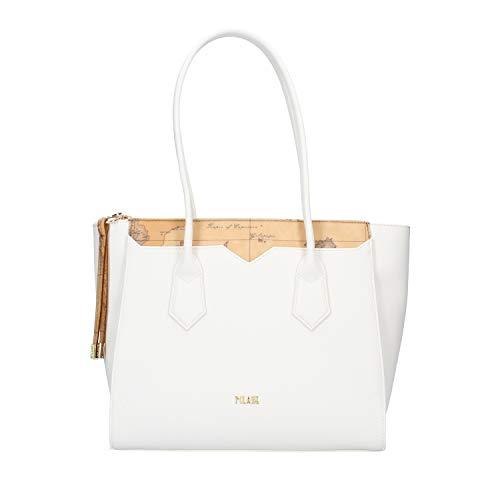 Prima classe Donna Borsa Shopping Media Medina City Bianco MOD. GO56 9407