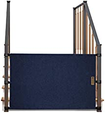 The Stair Barrier Baby and Pet Gate: No-Drill Portable Banister to Banister Baby Gates - Safety Gates for Kids or Dogs - Fabric Baby Gate for Stairs with Banisters