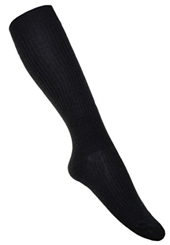 WB Socks DUNKEL GRAUE Kompressionsstrümpfen Flugsocken Schuhgröße:EU 44-47