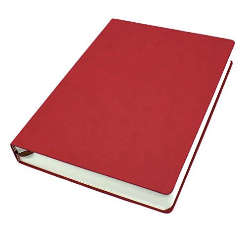 Cuaderno en blanco con 660 páginas 330 hojas A4 A5 A6 extra grueso, cuaderno de diario de negocios con tapa dura para escribir dibujo