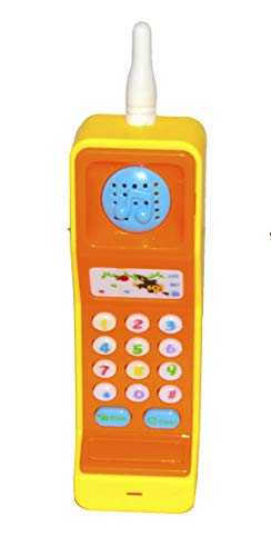 Vibgyor Vibes Light and Sound Cordless Musical Phone Toy for Kids (Multicolour)