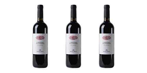 3 Bottiglie di Cabernet Sauvignon Marca Trevigliana IGP'Solicum' | Cantina Colli del Soligo | Annata 2017