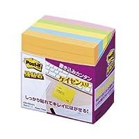 (業務用セット) ポスト・イット(R) 強粘着ネオンカラー ノート 7.5×7.5cm 1パック(5冊) 【×3セット】