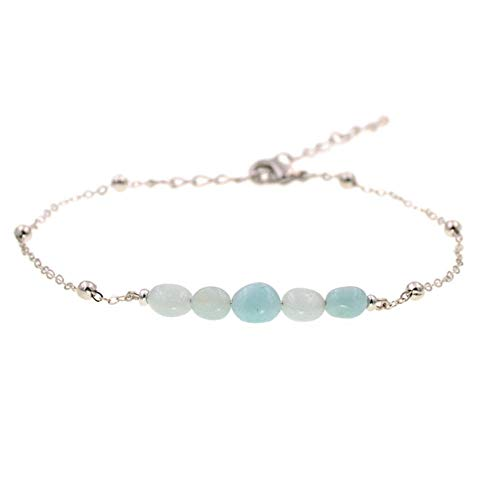 Vvff Natural Stone Chain Anklets For Women Anklet Bracelets Gril Foot Jewelry Size 22-28Cm
