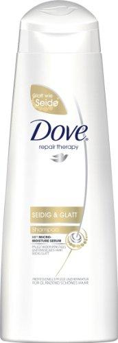 Dove Repair Therapy lisa sedoso Champú, 3Pack (3x 250ml)