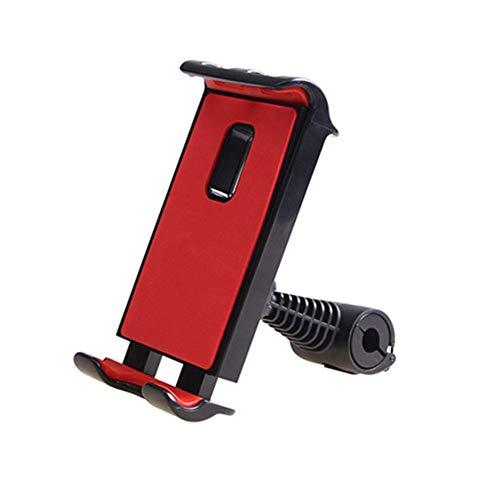 Soporte Tablet Coche Central Soporte Para Tablet Coche Almohada para reposacabezas de asiento de coche Soporte para Tablet de coche para niños Red,One Size