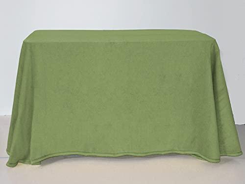 Lanovenanube - Falda Mesa Camilla Invierno Rectangular 70x120 - Verde