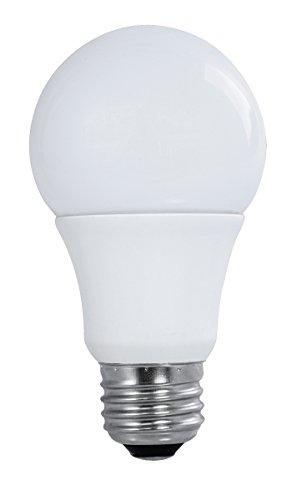 (Total of 4 bulbs) Satco S9589, 9A19/LED/3000K/120V/4PK, LED Light Bulb