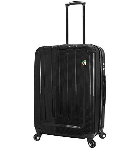 Mia Toro Como Spinner L Suitcase 70 cm, Black (Black) - 841795122528