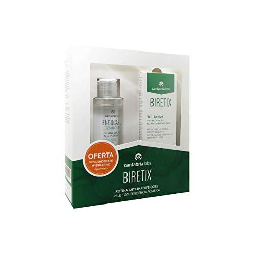 Biretix Pack Tri-active Gel Anti-imperfezioni 50ml + Endocare Hydractive Acqua Micellare 100ml