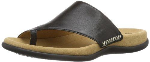 Gabor Shoes 83.700.27 Damen Pantoletten, Schwarz (Schwarz), Gr. 40
