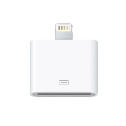 Apple MD823AM/A Lightning to 30-Pin Adapter (Renewed)